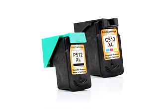 Canon PG-512 (PG-510) Black + CL-513 (CL-511) Color ÚSPORNÝ SET KOMPATIBILNÍCH NÁPLNÍ - 2970B010