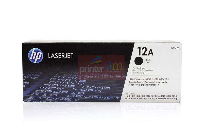 Hp 12A, Hp Q2612A Black- originální