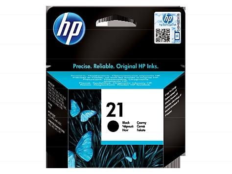 HP C9351A (HP 21), černá (black) - originální