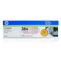 HP CB436AD - HP 36A Black 2-pack LJ Toner Cart, 2 x 2 000 str, orig.